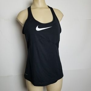 Nike Dri-Fit Swoosh Racerback Tank Top Shelf Bra